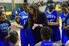 CIAC Girls Basketball Holy Cross JV 43 vs. Crosby JV 29 (6)