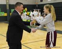 CIAC Girls Basketball Holy Cross Senior Night Festivities (2)
