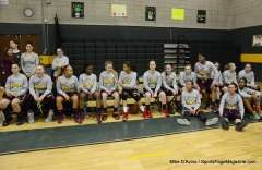 CIAC Girls Basketball Holy Cross Senior Night Festivities (7)