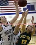 CIAC Girls Basketball; Lauralton Hall 14 vs. Holy Cross 45 - Photo # (151) (1271x1600)