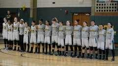 CIAC Girls Basketball NVL QF's: #1 Holy Cross 62 vs.#8 Wolcott 43 - Photo 12
