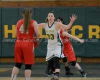 CIAC Girls Basketball NVL QF's: #1 Holy Cross 62 vs.#8 Wolcott 43 - Photo 22