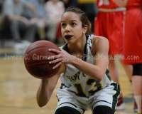 CIAC Girls Basketball NVL QF's: #1 Holy Cross 62 vs.#8 Wolcott 43 - Photo 23