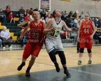 CIAC Girls Basketball NVL QF's: #1 Holy Cross 62 vs.#8 Wolcott 43 - Photo 24