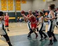 CIAC Girls Basketball NVL QF's: #1 Holy Cross 62 vs.#8 Wolcott 43 - Photo 30