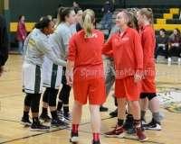 CIAC Girls Basketball NVL QF's: #1 Holy Cross 62 vs.#8 Wolcott 43 - Photo 8