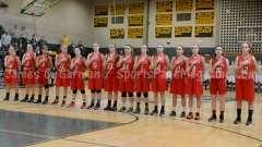 CIAC Girls Basketball NVL QF's: #1 Holy Cross 62 vs.#8 Wolcott 43 - Photo 9