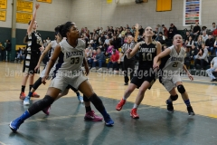 CIAC Girls Basketball NVL QF's: #3 Kennedy 58 vs. #6 Woodland 38 - Photo 10