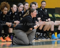 CIAC Girls Basketball NVL QF's: #3 Kennedy 58 vs. #6 Woodland 38 - Photo 15