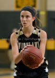 CIAC Girls Basketball NVL QF's: #3 Kennedy 58 vs. #6 Woodland 38 - Photo 18
