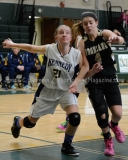 CIAC Girls Basketball NVL QF's: #3 Kennedy 58 vs. #6 Woodland 38 - Photo 19
