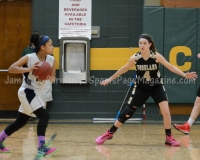 CIAC Girls Basketball NVL QF's: #3 Kennedy 58 vs. #6 Woodland 38 - Photo 2