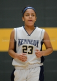 CIAC Girls Basketball NVL QF's: #3 Kennedy 58 vs. #6 Woodland 38 - Photo 24