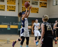 CIAC Girls Basketball NVL QF's: #3 Kennedy 58 vs. #6 Woodland 38 - Photo 25