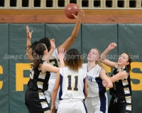 CIAC Girls Basketball NVL QF's: #3 Kennedy 58 vs. #6 Woodland 38 - Photo 28