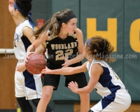 CIAC Girls Basketball NVL QF's: #3 Kennedy 58 vs. #6 Woodland 38 - Photo 30