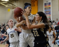 CIAC Girls Basketball NVL QF's: #3 Kennedy 58 vs. #6 Woodland 38 - Photo 4