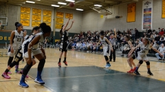 CIAC Girls Basketball NVL QF's: #3 Kennedy 58 vs. #6 Woodland 38 - Photo 9