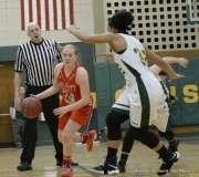 Gallery CIAC Girls Basketball; NVL Tournament QF's - #1 Holy Cross 67 vs. #8 Wolcott 48 - Photo # (27)