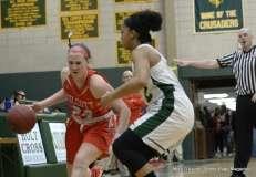Gallery CIAC Girls Basketball; NVL Tournament QF's - #1 Holy Cross 67 vs. #8 Wolcott 48 - Photo # (28)