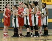 Gallery CIAC Girls Basketball; NVL Tournament QF's - #1 Holy Cross 67 vs. #8 Wolcott 48 - Photo # (30)