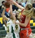 Gallery CIAC Girls Basketball; NVL Tournament QF's - #1 Holy Cross 67 vs. #8 Wolcott 48 - Photo # (39)