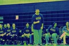 Gallery CIAC Girls Basketball; NVL Tournament QF's - #1 Holy Cross 67 vs. #8 Wolcott 48 - Photo # (41)