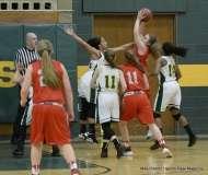 Gallery CIAC Girls Basketball; NVL Tournament QF's - #1 Holy Cross 67 vs. #8 Wolcott 48 - Photo # (46)