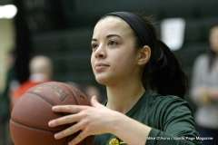 Gallery CIAC Girls Basketball; NVL Tournament QF's - #1 Holy Cross 67 vs. #8 Wolcott 48 - Photo # (9)