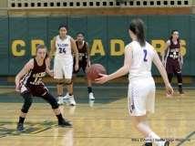Gallery CIAC Girls Basketball; NVL Tournament - #2 St. Paul 45 vs. #7 Sacred Heart 32 - Photo # (41)