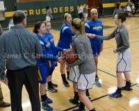 CIAC Girls Basketball NVL QF St Paul 52 vs Seymour 19 - Photo (2)