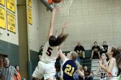 Gallery CIAC Girls Basketball; NVL Tournament #3 38 vs. Watertown #6 44 - Photo # (105)
