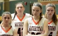 Gallery CIAC Girls Basketball; NVL Tournament #3 38 vs. Watertown #6 44 - Photo # (111)