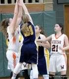 Gallery CIAC Girls Basketball; NVL Tournament #3 38 vs. Watertown #6 44 - Photo # (127)