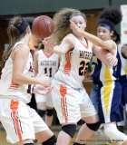 Gallery CIAC Girls Basketball; NVL Tournament #3 38 vs. Watertown #6 44 - Photo # (134)