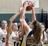 Gallery CIAC Girls Basketball; NVL Tournament #3 38 vs. Watertown #6 44 - Photo # (151)