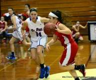 CIAC Girls Basketball St. Paul 71 vs. Derby 33 (16)