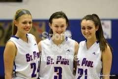CIAC Girls Basketball St. Paul vs. Derby - Pregame (2)