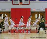 CIAC Girls Basketball Tourn. Class M, SF's - #1 Cromwell 58 vs. #4 Holy Cross 46 - Photo # (11)