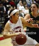 CIAC Girls Basketball Tourn. Class M, SF's - #1 Cromwell 58 vs. #4 Holy Cross 46 - Photo # (17)