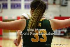 CIAC Girls Basketball Tourn. Class M, SF's - #1 Cromwell 58 vs. #4 Holy Cross 46 - Photo # (18)