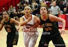CIAC Girls Basketball Tourn. Class M, SF's - #1 Cromwell 58 vs. #4 Holy Cross 46 - Photo # (22)