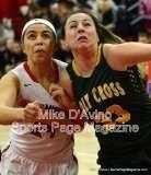 CIAC Girls Basketball Tourn. Class M, SF's - #1 Cromwell 58 vs. #4 Holy Cross 46 - Photo # (23)