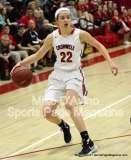 CIAC Girls Basketball Tourn. Class M, SF's - #1 Cromwell 58 vs. #4 Holy Cross 46 - Photo # (29)