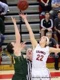 CIAC Girls Basketball Tourn. Class M, SF's - #1 Cromwell 58 vs. #4 Holy Cross 46 - Photo # (5)