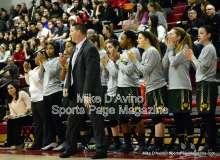 CIAC Girls Basketball Tourn. Class M, SF's - #1 Cromwell 58 vs. #4 Holy Cross 46 - Photo # (9)