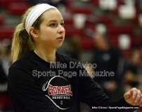 CIAC Girls Basketball Tourn. - Class M, SF's - Focused on #1 Cromwell vs. #4 Holy Cross - Pregame - Photo # (14)