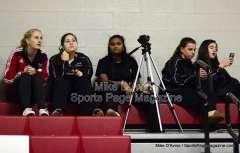 CIAC Girls Basketball Tourn. - Class M, SF's - Focused on #1 Cromwell vs. #4 Holy Cross - Pregame - Photo # (19)