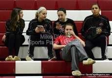 CIAC Girls Basketball Tourn. - Class M, SF's - Focused on #1 Cromwell vs. #4 Holy Cross - Pregame - Photo # (4)