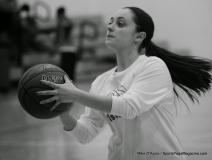 CIAC Girls Basketball Waterbury Career Fr. 19 vs. Holy Cross Fr. 44 (14)
